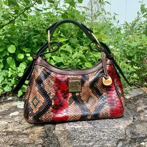 Dooney and Bourke mini hobo bag